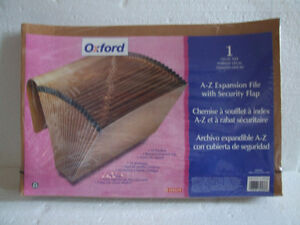 Brand new Oxford Alphabetical expandable file organizer London Ontario image 1