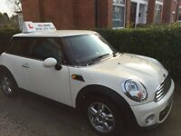 Driving Lessons in a Mini - Winter/ Spring offers now available