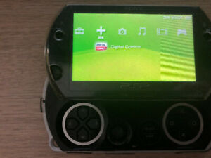 PSP GO WITH 9 GAMES