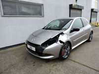59 Renault Clio 2.0 Renaultsport 200 Damaged Salvage Repairable