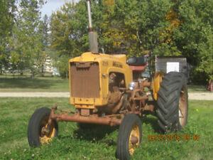 For Sale Minneapolis Moline 3 Point Hitch Tractor.