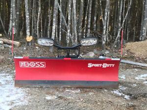 Boss 7.6 snow plow