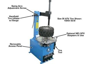 ATLAS - MOTORCYCLE TIRE CHANGER / BALANCER COMBO - CLENTEC London Ontario image 6