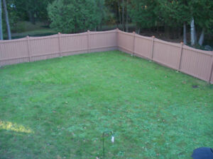 Great Condition, Great Looking Fence Sections and Gate!