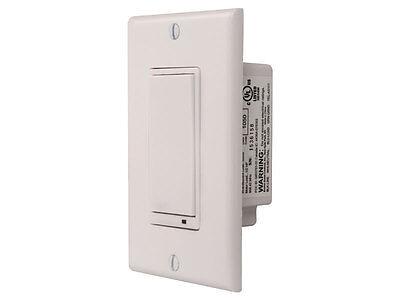 Linear WT00Z: Z-Wave 3-Way Wall Accessory Switch - Light Con