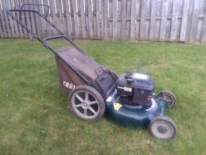 Craftsman 6 HP Lawnmower   416-802-0166