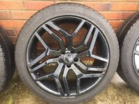 "20"" Range Rover Evoque Wheels and Tyres"