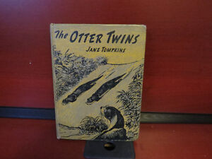 The Otter twins Hardcover – 1955 by Jane Tompkins (Author)