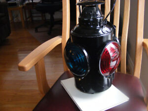Canadian National and Canadian Pacific Railway Lanterns