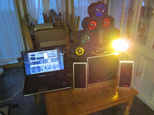 Laptop i3 300$ ou i7 500$ 17 po avec kit DJ DISCO non nego