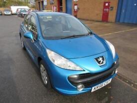 2006 Peugeot 207 1.4 16v 90 Sport Manual Hatchback in Blue