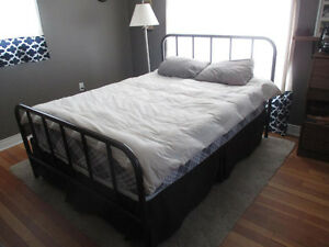 "'farmhouse"" Queen bed frame"
