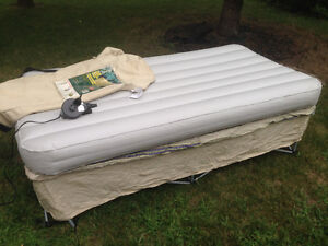 twin inflatable bed