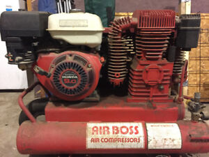 9hp Honda Compressor (Air Boss) With Painting Accessories