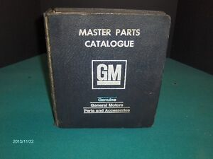 1930'S TO 1990'S GM PARTS BOOKS CHEV, BUICK, PONTIAC, OLDSMOBILE