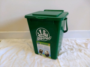 Compost + recycling bins