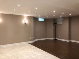 Beautiful, spacious bachelor basement for for single individual