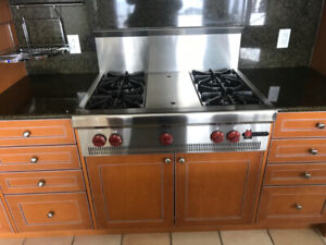 kitchen - complete or appliances  - cabinets