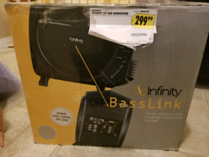 "Infinity 10"" Subwoofer/Amp Combo"