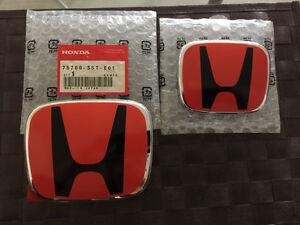2006-2011 Honda Civic Sedan JDM Emblems **NEW**