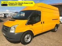 2009 FORD TRANSIT 2.2 350 LWB HIGH ROOF ,Only, FSH,( 2.4,300 330)