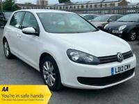 Volkswagen Golf MATCH 1.6 TDI 2012 white manual. Good reliable cheap family car