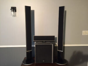 LG surround speaker system