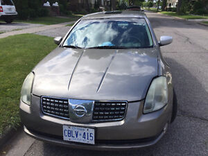 "Selling ""AS IS"" My 2004 Nissan Maxima SE Sedan- FULLY LOADED"