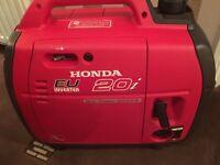 Honda eu20i suitcase generator / caravan / motorhome .
