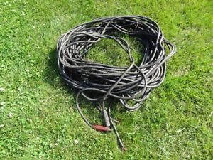 câble à souder welding cable 2 x 125pi 3/0