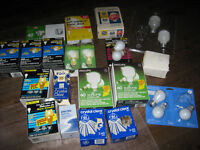 Incandescent Light Bulbs - New and used