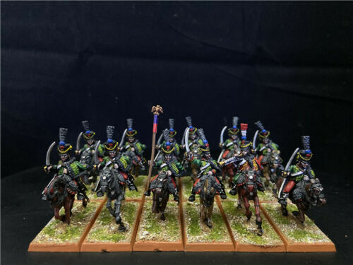 1/56 28mm DPS painted Napoleonic Wars French Hussars Regiment GH2143