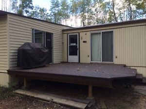 Lot, mobile home for sale
