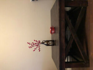 Handmade spruce coffee table