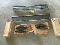 Chevrolet Tahoe and Suburban grill and door handles