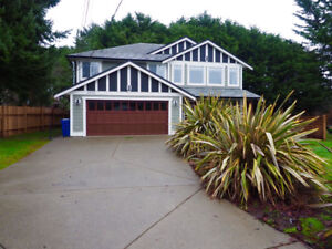 4 Bedroom 2 Bath custom home in Sooke