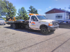 towing remorqueuse ford f550