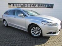 2015 Ford Mondeo 1.6 TDCi ECOnetic Zetec (s/s) 5dr Diesel silver Manual