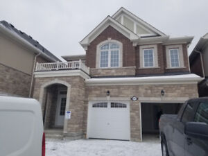 Brand New 4 BDRM House for Rent in Pickering/Ajax Area
