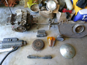 1968 VW Beetle parts