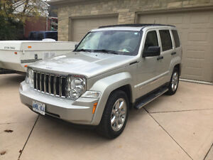 2009 Jeep Liberty Limited Edition SUV, Crossover Kitchener / Waterloo Kitchener Area image 1
