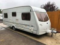 2007 Lunar Lexon EB 4 Berth caravan FIXED BED Awning, VGC, Bargain !