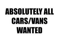 Wanted scrap cars vans mot failure non runners spare repair
