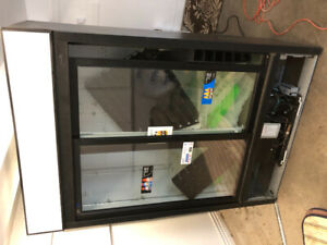 QBD two door commercial fridge