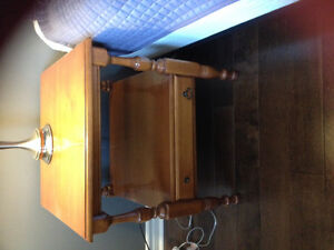 Maple roxton end tables