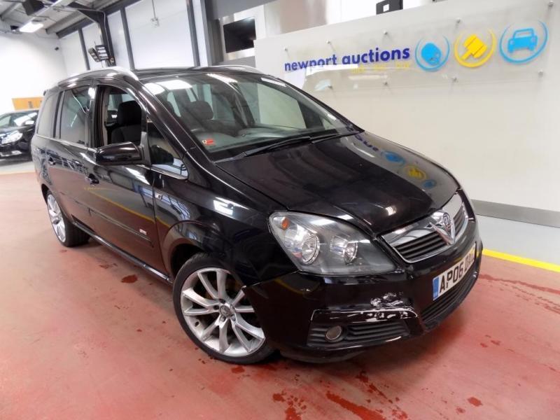 Vauxhall/Opel Zafira 2.0i 16v Turbo ( 200ps ) 2006MY SRi