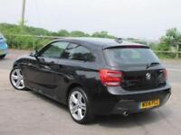 2014 14 BMW 1 SERIES 120D M SPORT 3DR DIESEL
