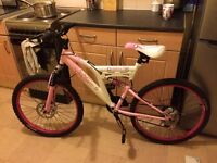 Girls age 13+ muddy fox sportz mountain bike