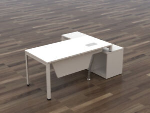 ***Modern L-Shape Desk***