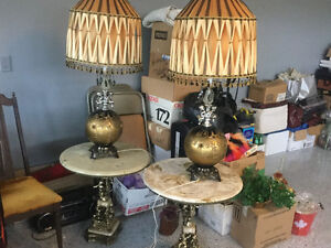 GOLD LAMPS